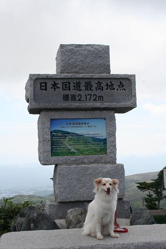8.31日本国道最高地点モコ