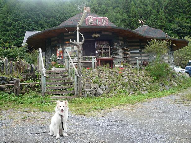 10.2壺小屋とモコ