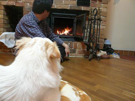 11.25暖炉体験