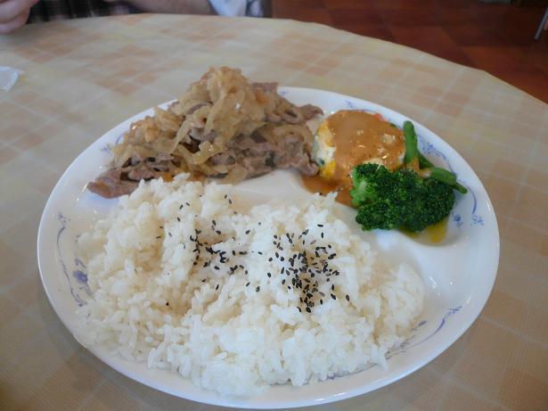 4.1豚肉のオニオンソース