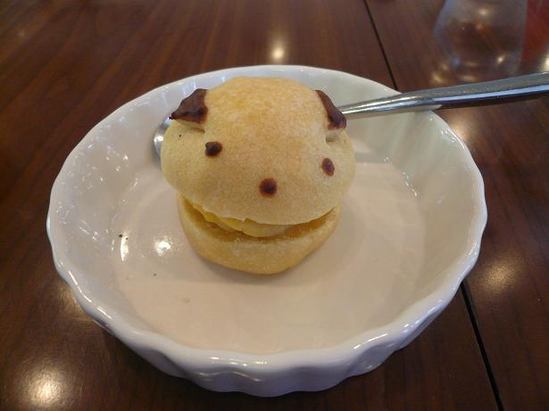 4.13サツマイモのシュークリーム