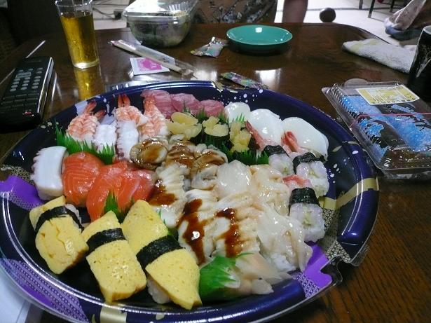 7.29昼は寿司