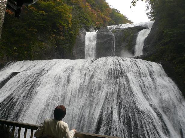 10.29豪快な袋田の滝