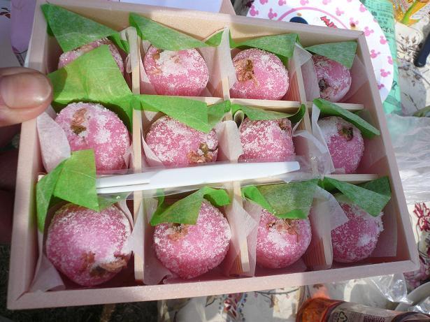 3.1桜の和菓子