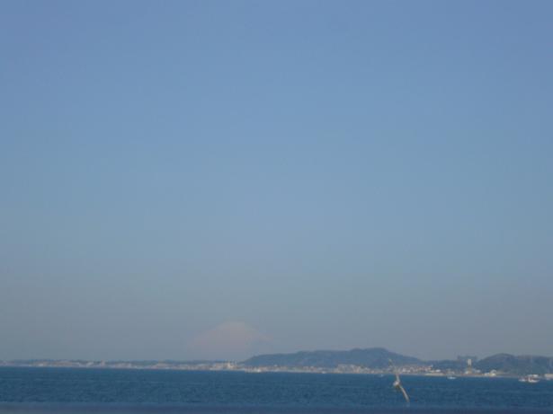 4.2うっすら富士山が・・