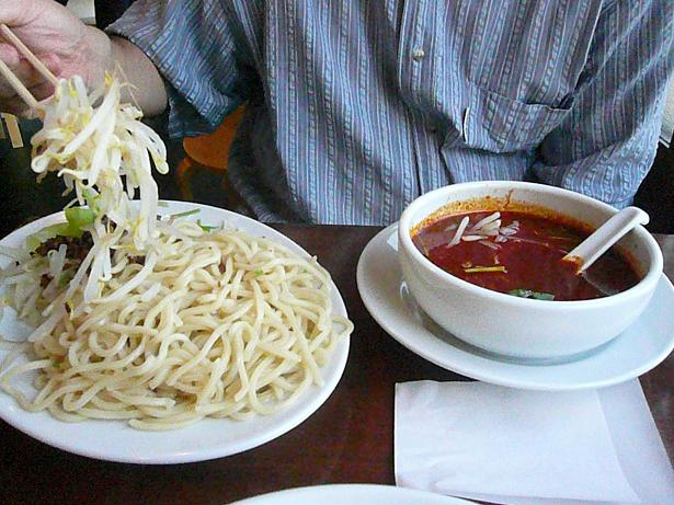 10.18ピリ辛のつけ麺