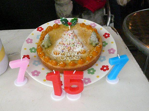 12.14バースデーケーキ