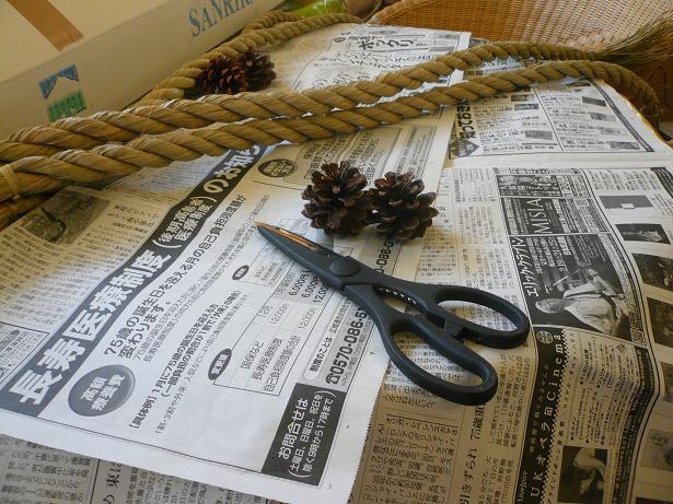 12.25お正月飾り作り