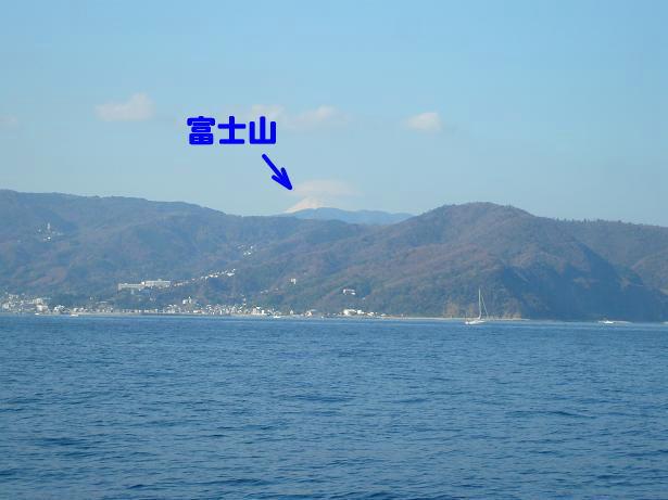 1.7富士山見えた