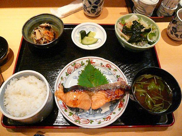 4.26鮭の西京焼き定食