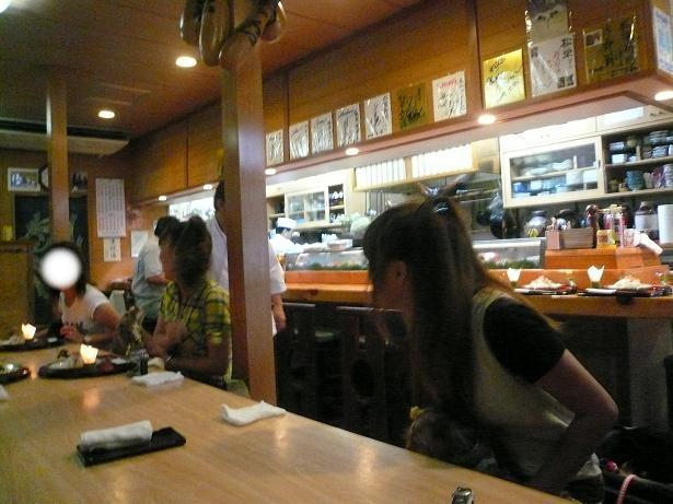 6.22寿司屋さん店内