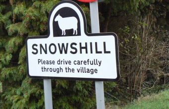 Snowshill 看板