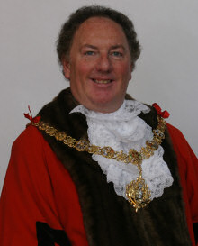 The Mayor in regalia