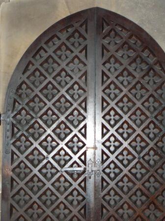 Magdalen chapel door