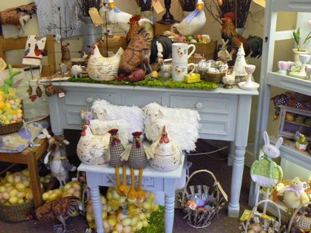 Lavenham shop easter