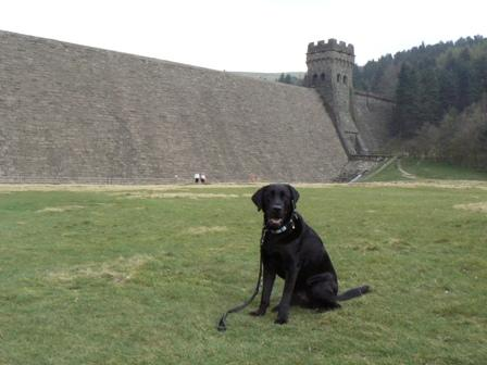 Peak District Derwent dam