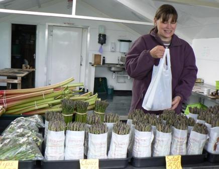 farm shop lady