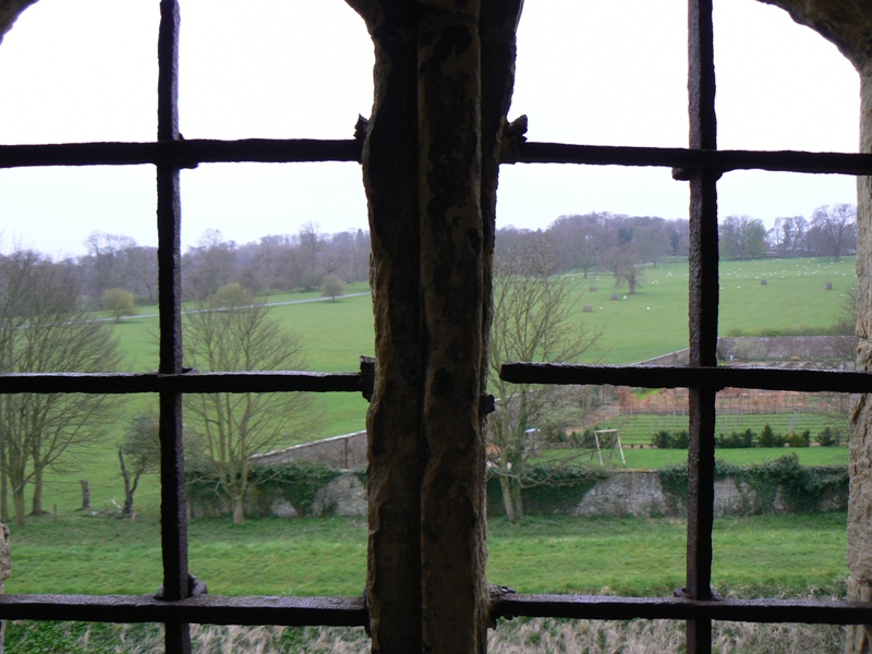 Helmsley castle window