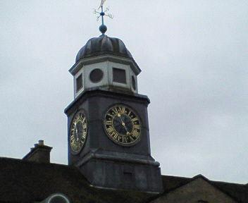 キューポラ時計台