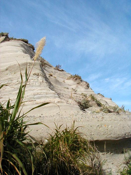 断層みたいな砂みたいな…??