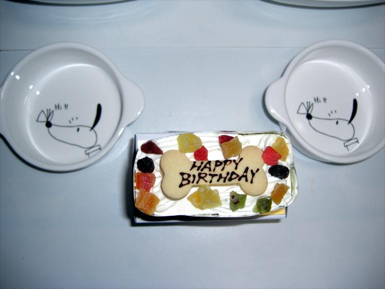 キラジの誕生日ケーキ