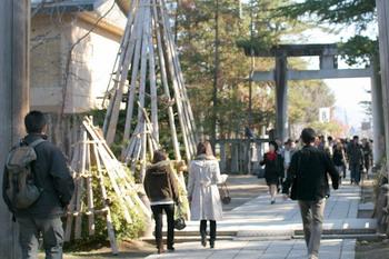 061125休日の上杉神社