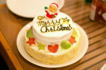 061211Repos特製ワンコケーキ