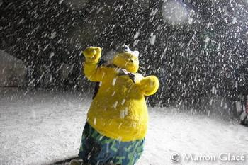 070213吹雪の中のヒデヨシ