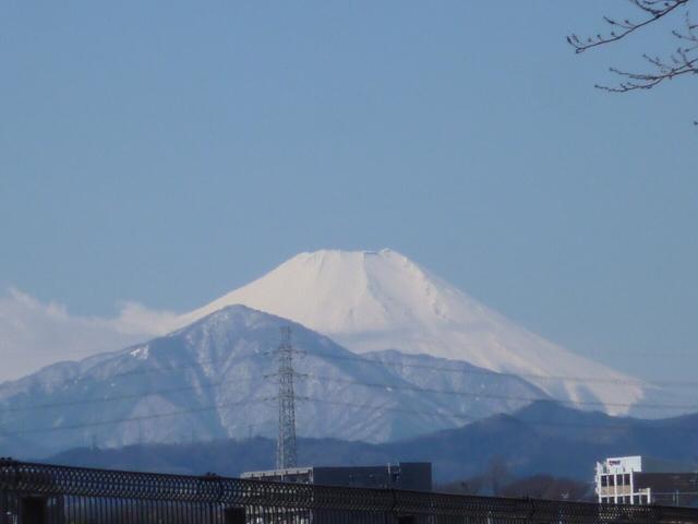 3/13富士山