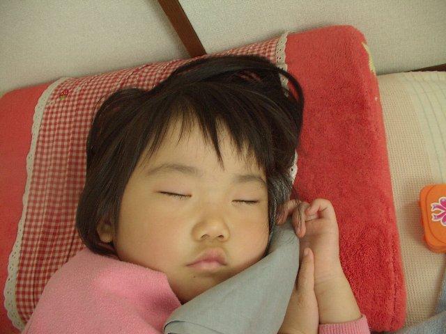 エマチャンの寝顔