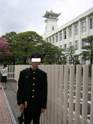 入学式(時計台)