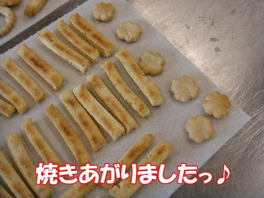 おからセサミクラッカー☆