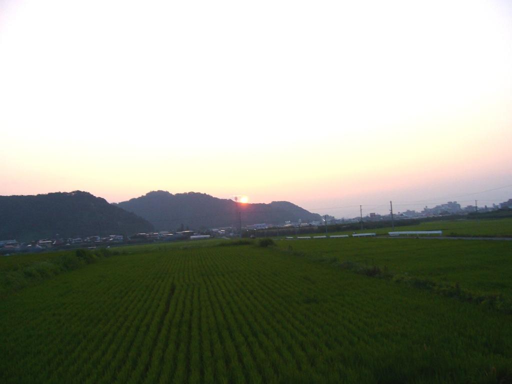キラキラ夕日☆