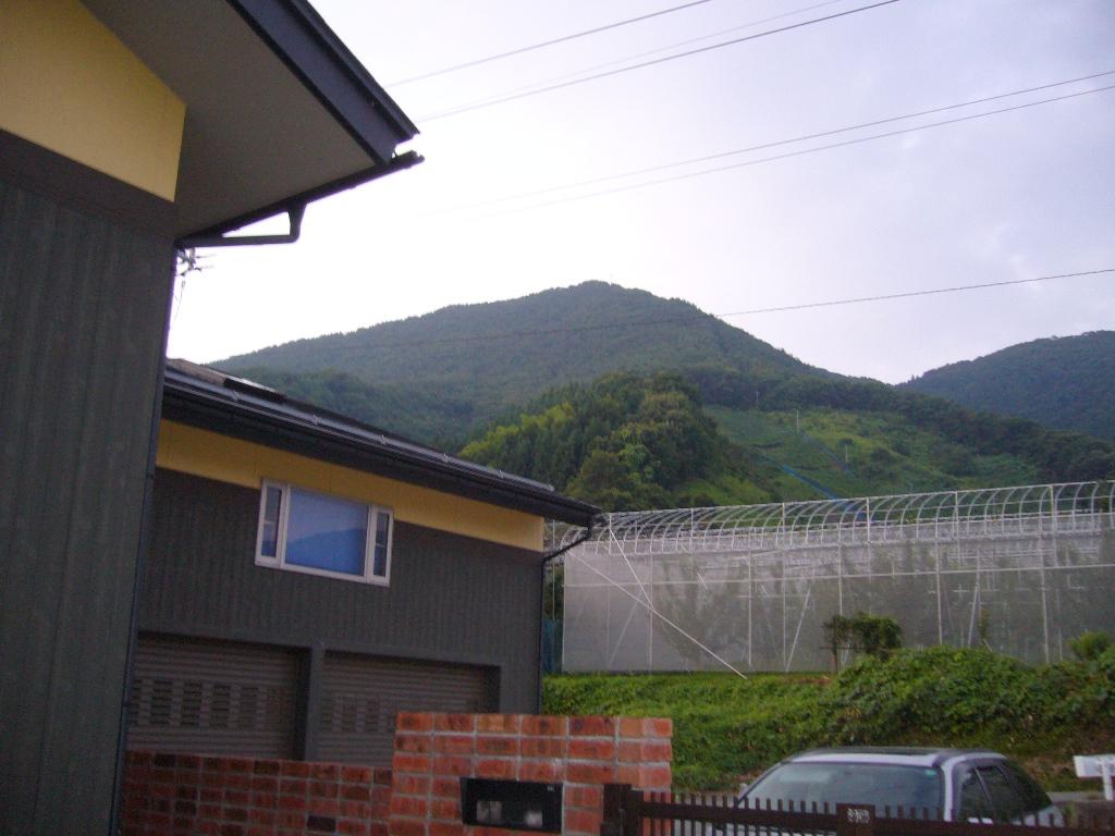 この山だぁ〜!