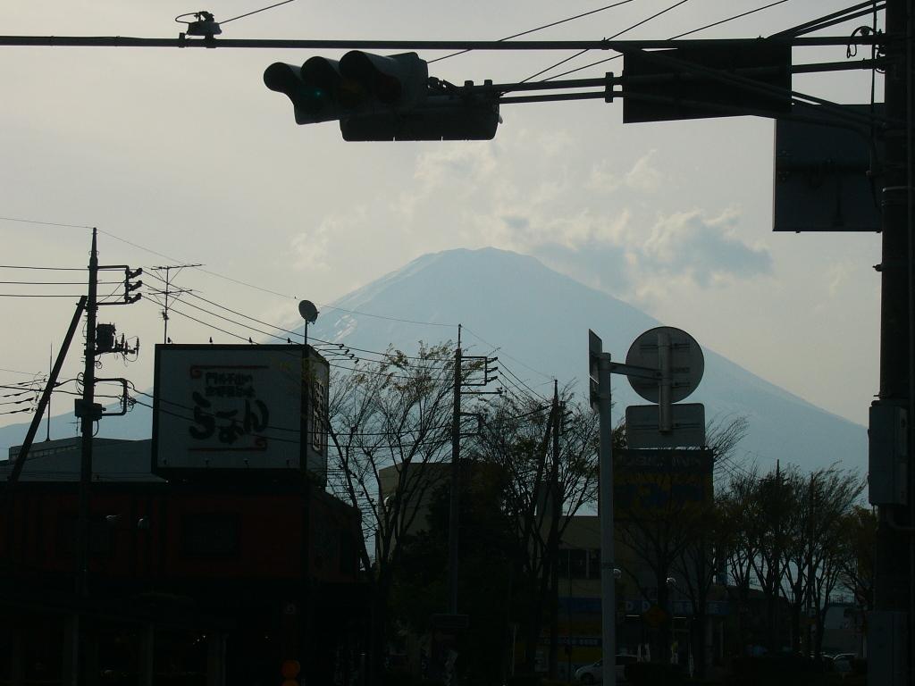 富士山が見えるよぉ〜!