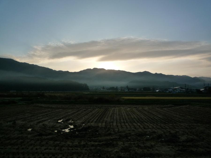 寒い朝だよぉ〜!
