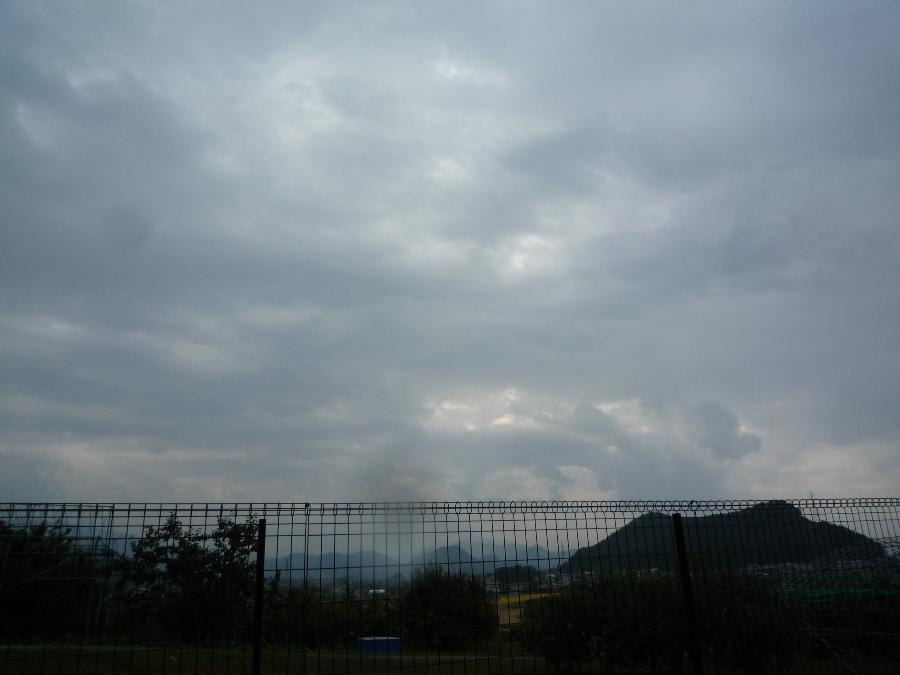 怪しい雲いき!