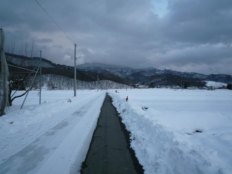 山も寒そうです