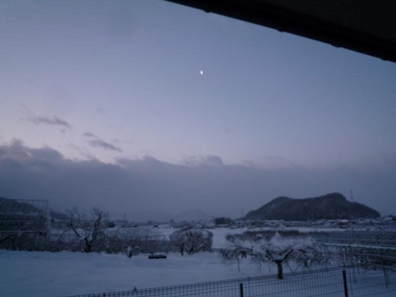 一段と寒い朝です!