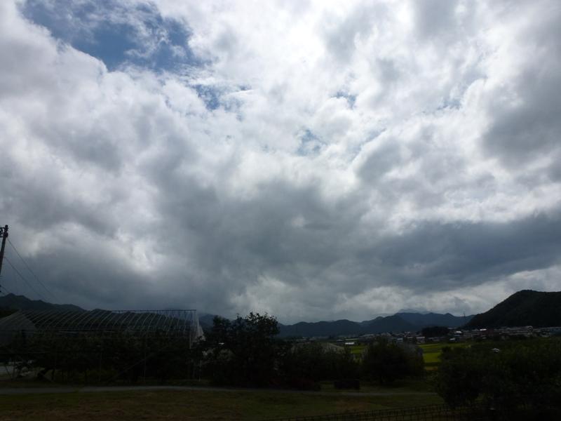 変なお天気!